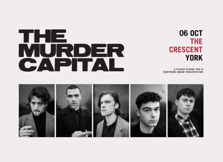 The Murder Capital + Egyptian Blue + The Black Lagoons