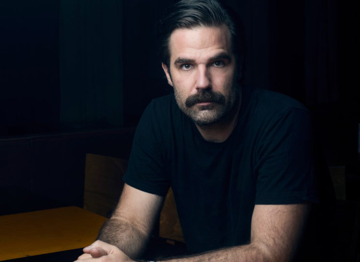 Rob Delaney: Warms Up For His Special