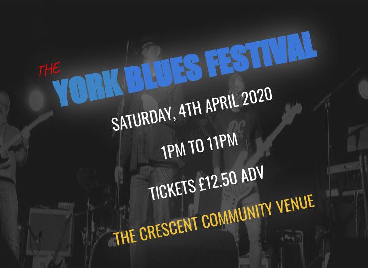 York Blues Festival 2020